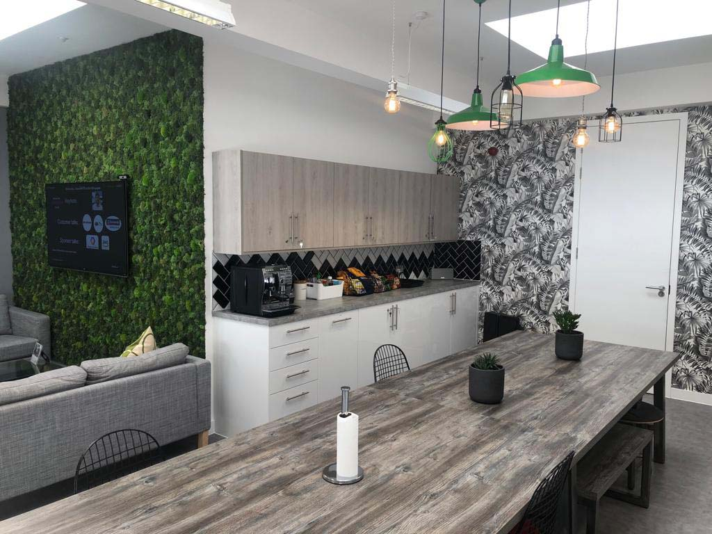 Tea Point And Breakout High Wycombe | Project Interiors Refurbishments
